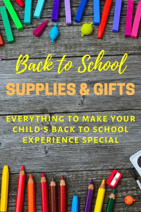 Back to School Supplies and Gifts
