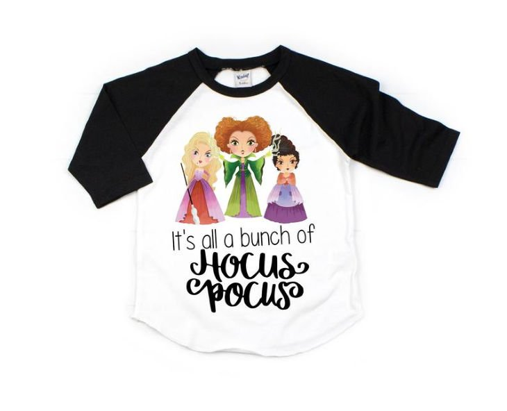 Hocus Pocus Girls Shirt