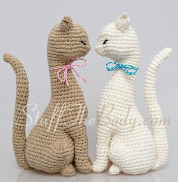 Cat Princess Amigurumi Crochet Pattern