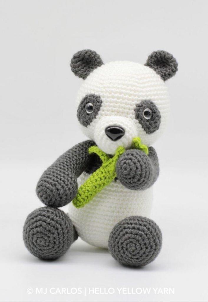 Boo the Panda Crochet Amigurumi Pattern