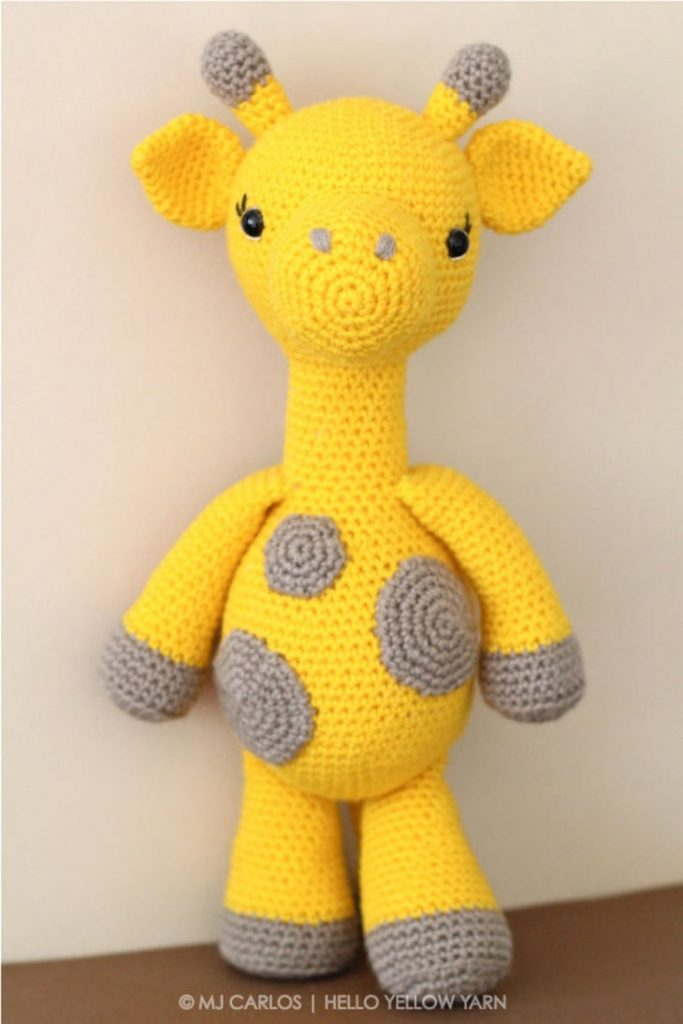 Gemma Giraffe Amigurumi Crochet Pattern