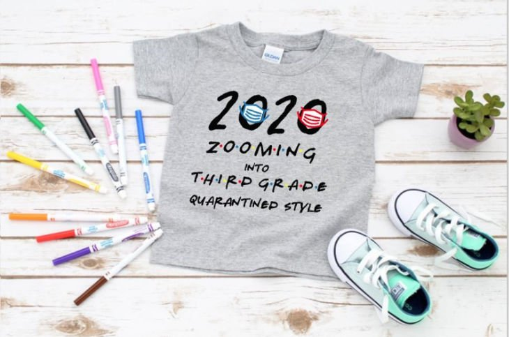 Back To School 2020 Custom Virtual Back-to-School Zooming Shirt