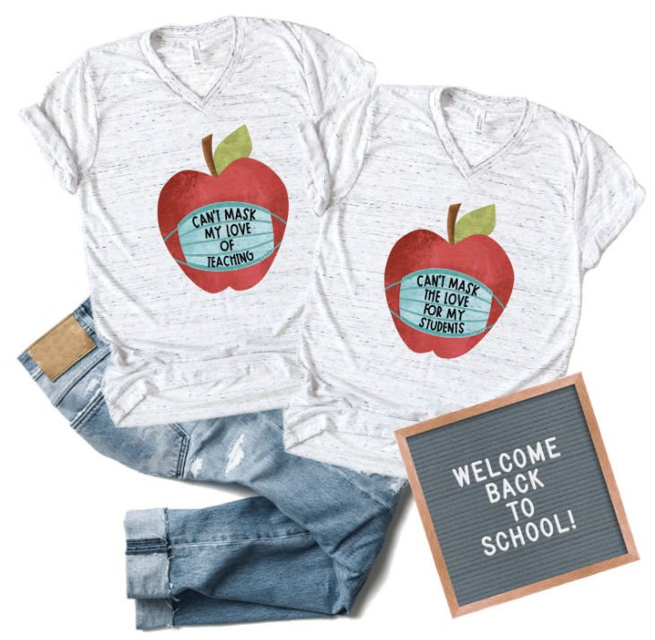 Can't Mask My Love of Teaching Shirt
