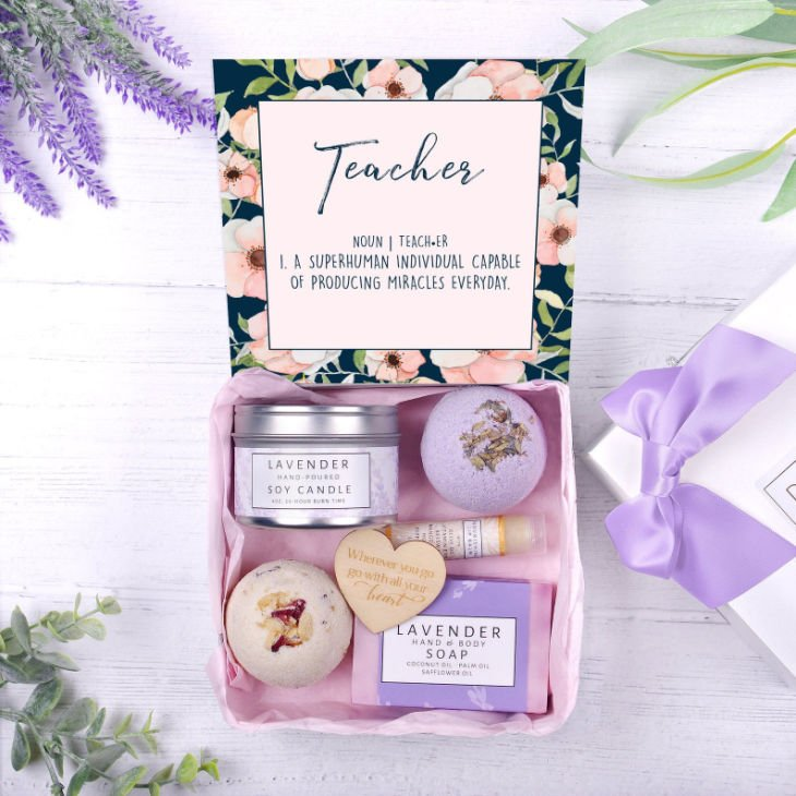 Teacher Spa Gift Box
