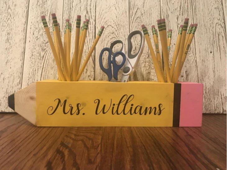 Teacher Pencil Organizer