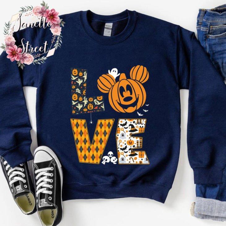 Cute Love Halloween Shirt