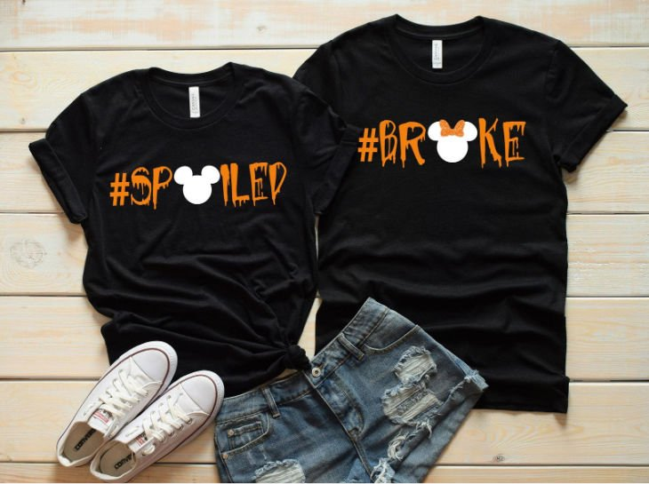 Disney Couple Spoiled/Broke Shirts