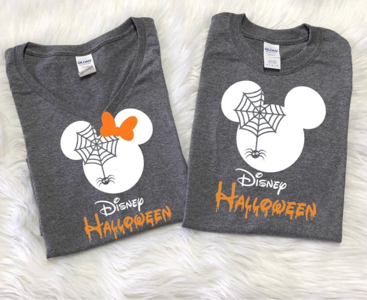 Disney Spider Matching Couple Shirts