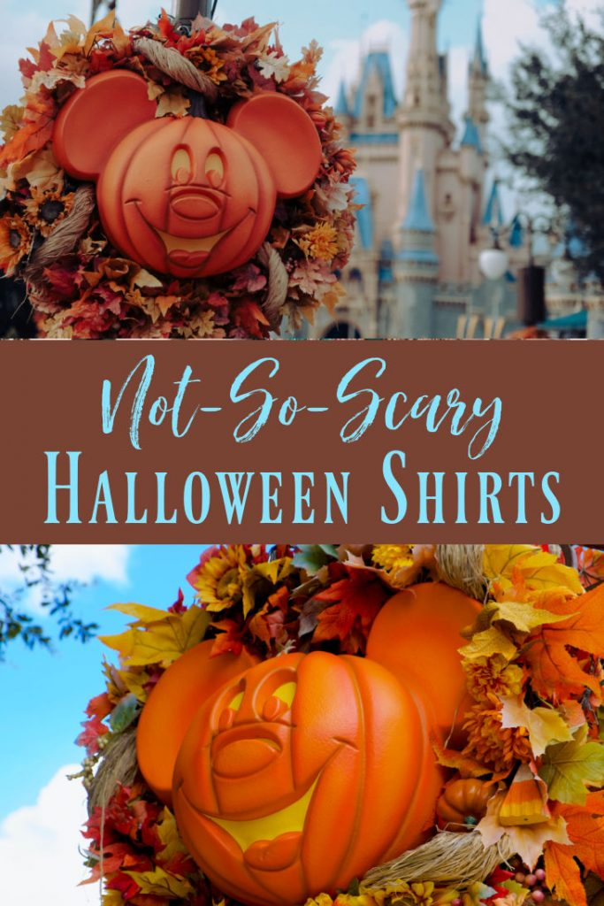 Not-So-Scary Halloween Shirts