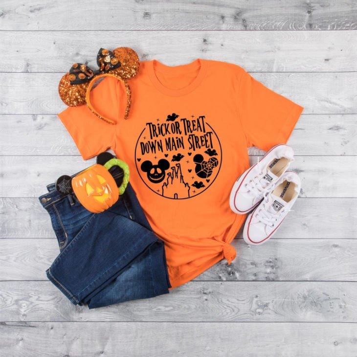 Trick or Treat Down Main Street Shirt