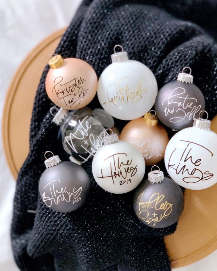 Personalized Holiday Ornament